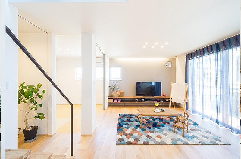 家族の楽しみが詰まった、中庭を囲むコートハウス|岡山・倉敷・福山の注文住宅ならFORT建築設計
