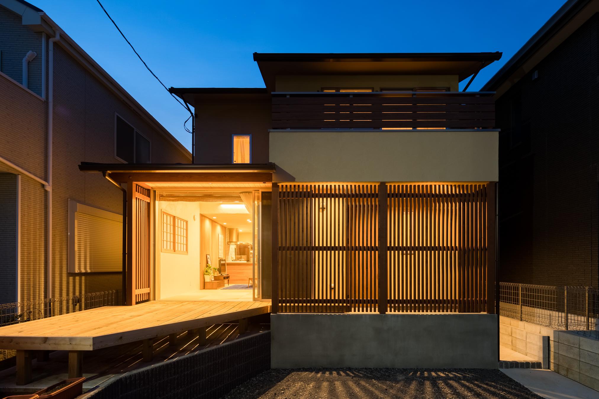 [写真]広々暮らす小さな家