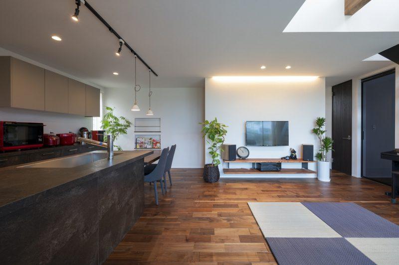 インテリアにこだわった和モダンの家|岡山・倉敷・福山の注文住宅ならFORT建築設計