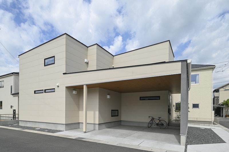【施工事例】シンプル&大人かわいい家|岡山・倉敷・福山の注文住宅ならFORT建築設計