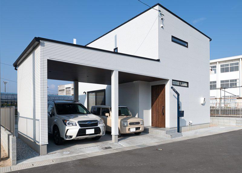 満足の詰まったミニマルな家|岡山・倉敷・福山の注文住宅ならFORT建築設計