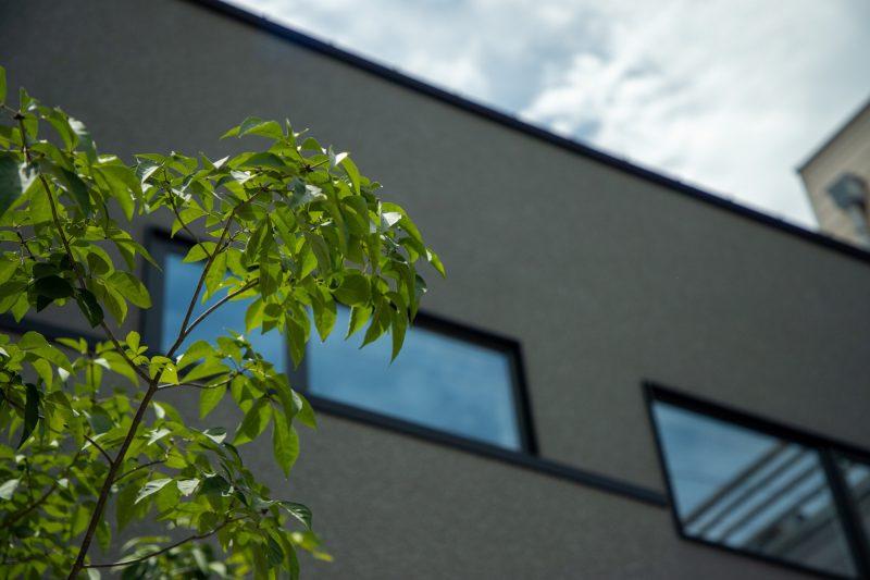 街なかのプライベートハウス|岡山・倉敷・福山の注文住宅ならFORT建築設計