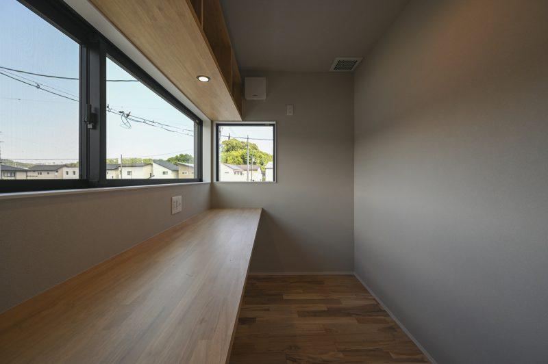 1畳で実現!快適ワークスペース|岡山・倉敷・福山の注文住宅ならFORT建築設計